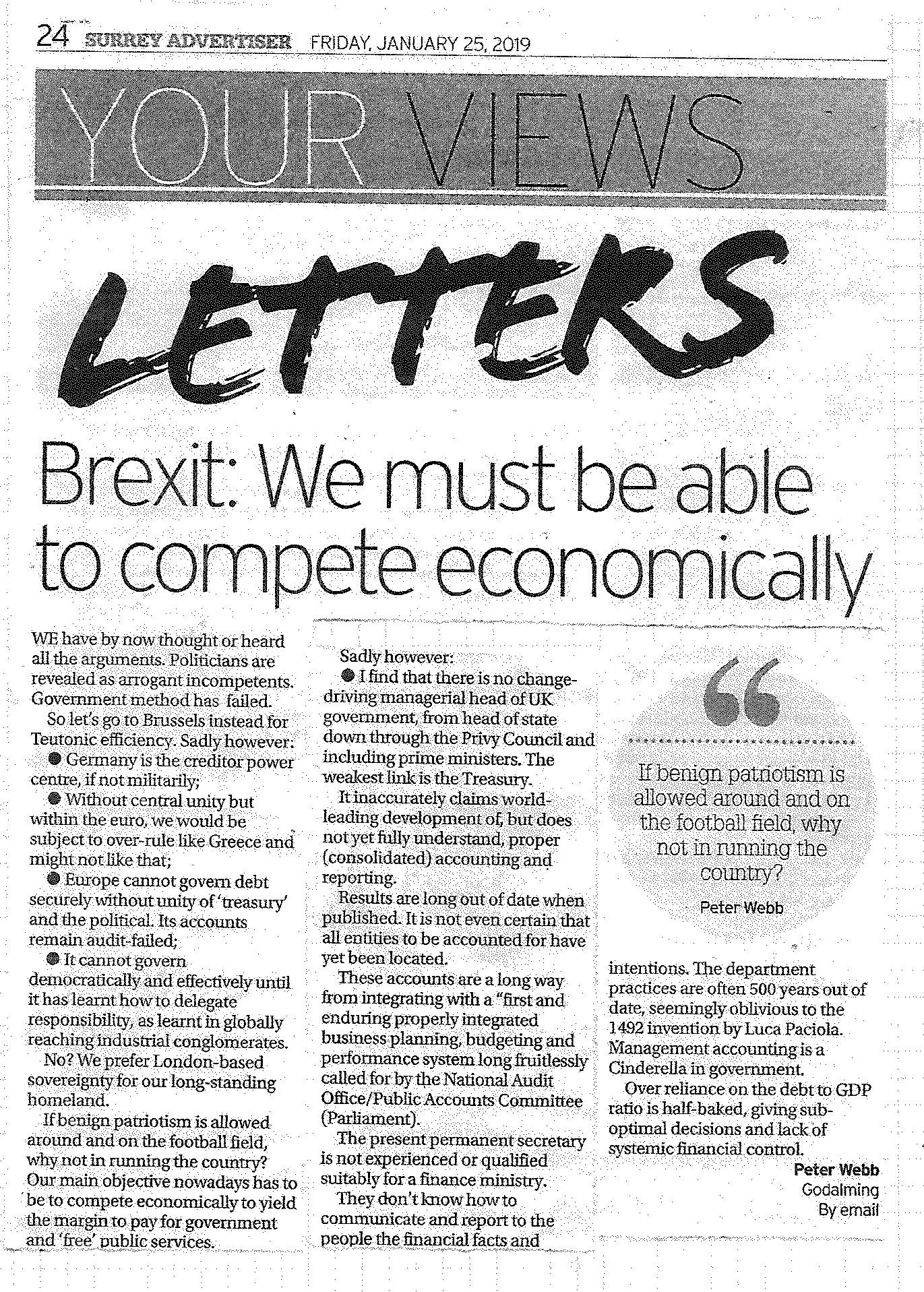 Brexit-we must compete economically